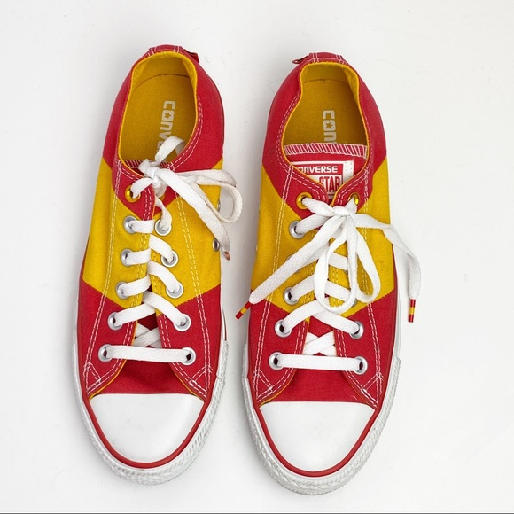Converse Shoes | All Star Red Yellow